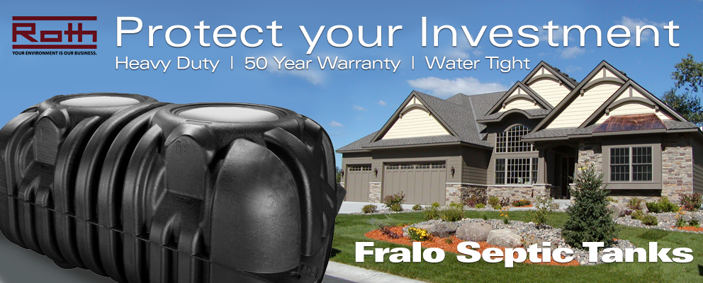 Fralo Septic Tank - Protect your investment